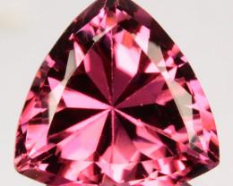 4.78 Cts Natural Sweet Pink Tourmaline Trillion Cut Mozambique
