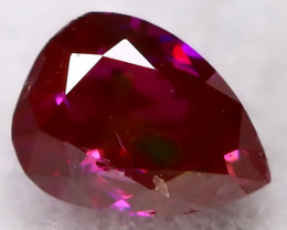 Purple Red Diamond 3.0mm Natural Fancy Diamond AT0617