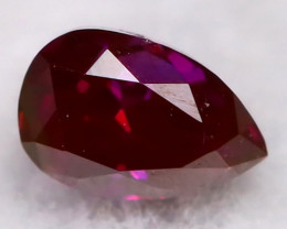 Purple Red Diamond 3.1mm Natural Fancy Diamond AT0619