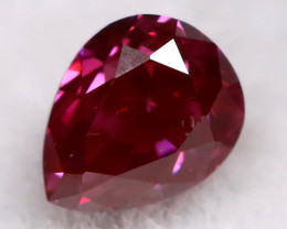 Purple Red Diamond 2.8mm Natural Fancy Diamond AT0621