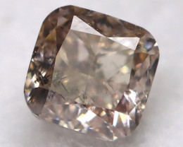 Champagne Pink Diamond 0.21Ct Natural Fancy Diamond AT0623