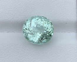 IGA  Certified 5.63 Carats Natural Tourmaline Paraiba Gemstone