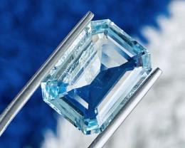 7.44 ct Aquamarine Gemstone