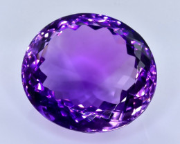 38.48 Crt Natural  Amethyst Faceted Gemstone.( AB 97)