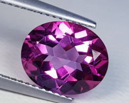 3.81 ct Top Quality Stunning Oval Cut Natural Pink Topaz