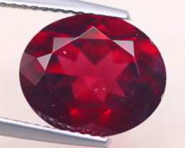 5.96Ct Natural Rhodolite Garnet Oval Cut Lot A888