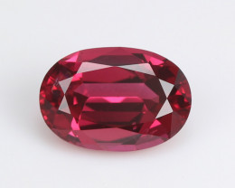 Burmese red spinel, eye clean, rare, excellent cut. SN146-1