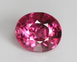 Burmese red spinel, eye clean, rare, excellent cut. SN159-2