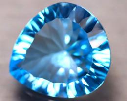 Sky Topaz 12.76Ct Natural VVS Sky Blue Topaz ER150/A48