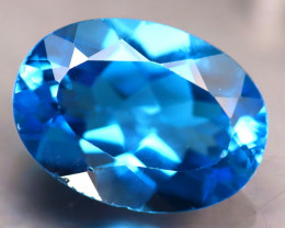Swiss Topaz 14.16Ct Natural VVS Swiss Blue Topaz ER152/A48