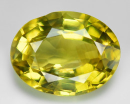1.80 Cts Yellowish Green Color Natural Chrysoberyl Alexandarite