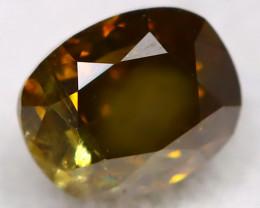 Grysh Green Diamond 0.19Ct Natural Untreated Fancy Diamond BM0453