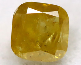 Yellowish Orange Diamond 0.16Ct Natural Untreated Fancy Diamond BM0455