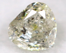 Salt And Pepper Diamond 0.15Ct Natural Untreated Fancy Diamond BM0472