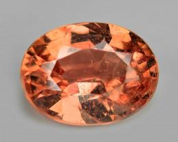 0.51 Cts Rare Natural Pinkish Red Padparadscha Sapphire Loose Gemstone