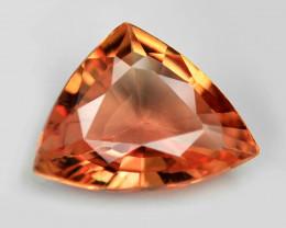 0.71 Cts Rare Natural Pinkish Red Padparadscha Sapphire Loose Gemstone