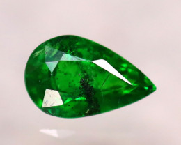 Tsavorite 0.92Ct Natural Intense Vivid Green Color Tsavorite Garnet DF0706