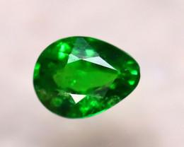 Tsavorite 0.70Ct Natural Intense Vivid Green Color Tsavorite Garnet DF0707