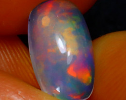 Welo Opal 1.23Ct Natural Ethiopian Play of Color Opal E0818/A28