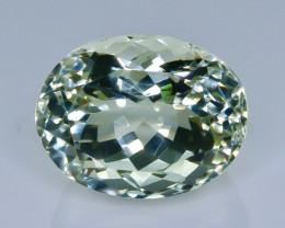 16.99 Crt Green Prasiolite Amethyst Faceted Gemstone (Rk-73)