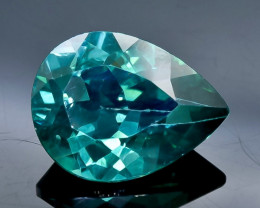 9.89 Crt  Topaz Faceted Gemstone (Rk-73)