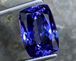 10.45 ct AAA Tanzanite - Investment Quality - Loupe Clean ~A4