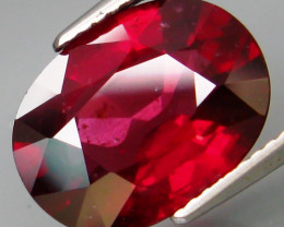 6.73Ct. 100% Natural Earth Mined Top Cherry Red Rhodolite Garnet Africa