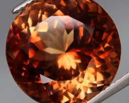 19.70ct. 100% Natural Earth Mined Topaz Orangey Brown Brazil