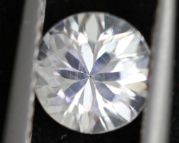 1.93 carats Custom Cut White Zircon ANGC842