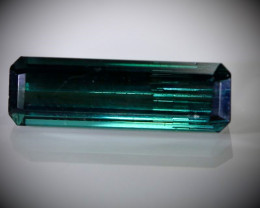 Blue Tourmaline 3.65ct Natural Untreated
