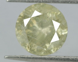 0.30 Cts Untreated Fancy Greenish Yellow  Color Natural Loose Diamond