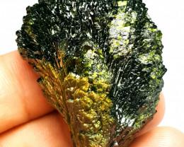 Amazing Damage free Flower tree shape Epidote crystal 230Cts-Pak