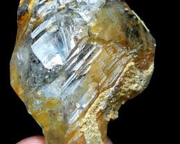 Amazing Natural Damage free Lovely Shape Window Quartz Crystal 160Cts-P