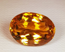 5.87 ct Top Quality Gem Beautiful Oval Cut Natural Citrine