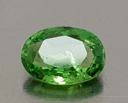0.75CT RARE TSAVORITE GARNET BEST QUALITY GEMSTONE IIGC001