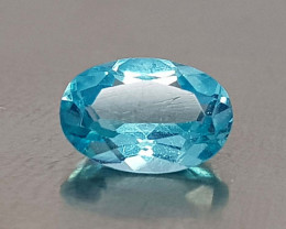 0.65CT NEON BLUE APATITE BEST QUALITY GEMSTONE IIGC001