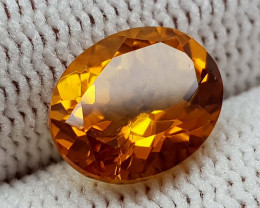 2.45CT MADEIRA CITRINE  BEST QUALITY GEMSTONE IIGC001