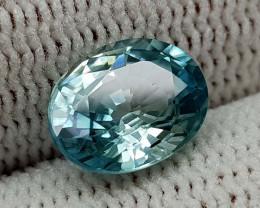 2.79CT NATURAL BLUE ZIRCON BEST QUALITY GEMSTONE IIGC001