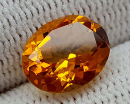 2.39CT MADEIRA CITRINE  BEST QUALITY GEMSTONE IIGC001