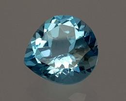7Crt Blue Topaz Natural Gemstones JI51