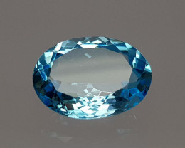 8.45Crt Blue Topaz Natural Gemstones JI51