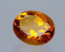 2.69Crt Madeira Citrine Natural Gemstones JI51