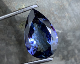 11.00 ct Unheated Tanzanite - Investment Size - Loupe Clean A8