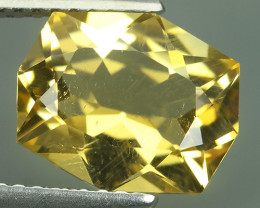 2.50 CTS AWESOME NATURAL FANCY CUSHION CUT GOLD~YELLOW CITRINE GEM!!