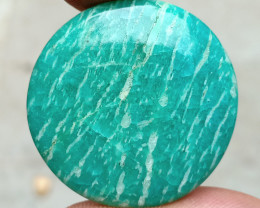 51 CT BEAUTIFUL AMAZONITE CABOCHON Natural Gemstone VA2481