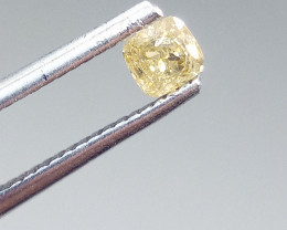 0.28ct  Fancy Brownish Yellow Diamond , 100% Natural Untreated