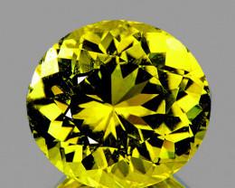 6x5.5mm Oval 0.92ct Canary Yellow Mali Garnet [VVS]