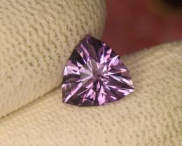 Master Cut Top Luster Amethyst Gemstone Cut by Master Cutter