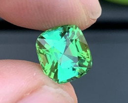 Loupe Clean 3.80 Ct Natural Mint Green Tourmaline