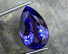 12.42 ct AAA Tanzanite - Investment Size - Loupe Clean A11